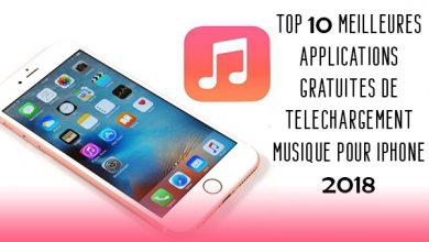 Applications gratuites de téléchargement de musique pour iPhone