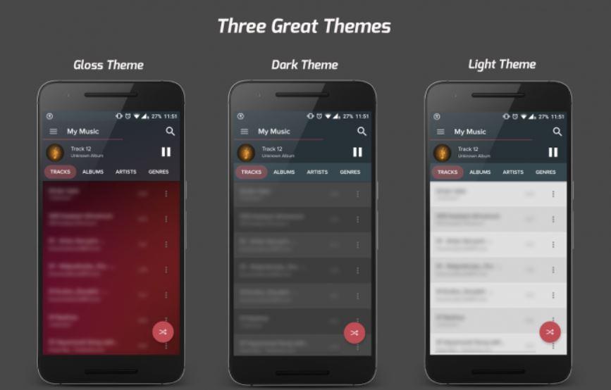 Lecteurs de musique gratuits pour Android