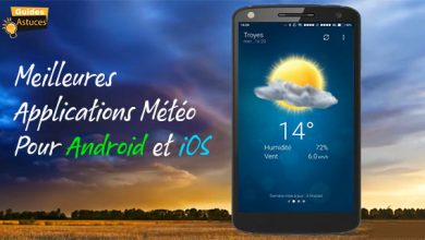 applications météo