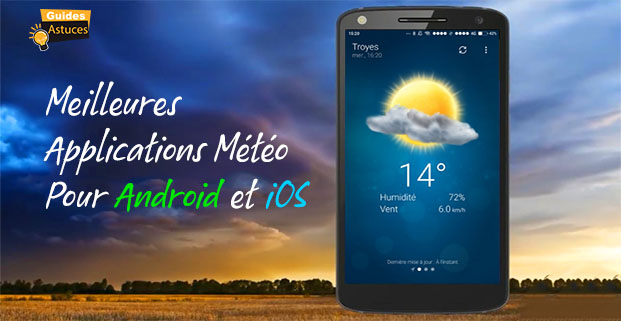 applications météo