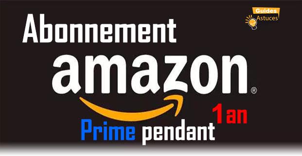 obtenir un abonnement gratuit Amazon Prime