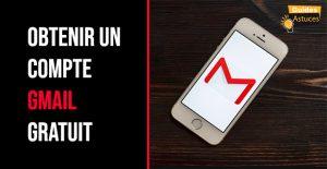 Compte Gmail gratuit