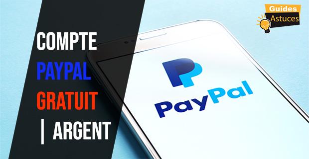 compte PayPal gratuit