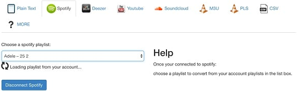 télécharger playlist spotify