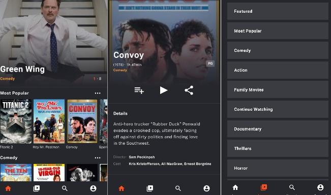 Application pour regarder des films gratuit sur android