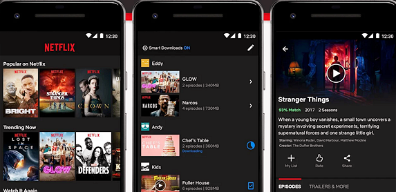 application tv android