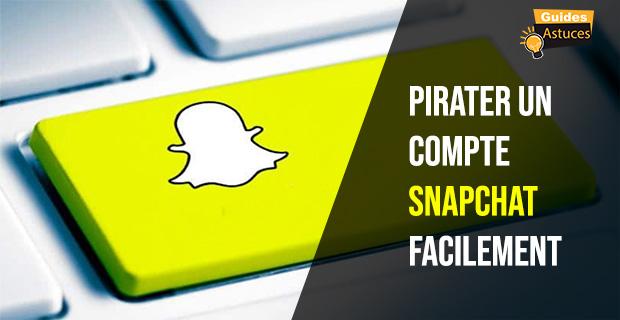 Pirater un compte Snapchat