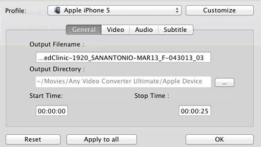 applications de conversion vidéo pour mac OS
