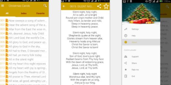 applications de chanson de Noël