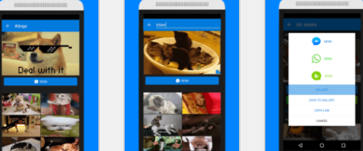 GIF pour SMS sur Android