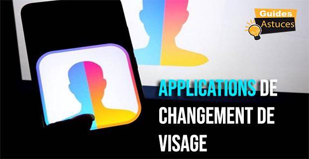 applications de changement de visage pour iPhone