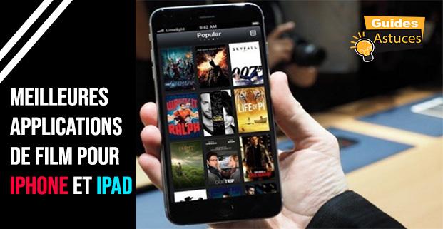 applications de film pour iPhone