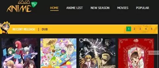 site pour regarder des animes