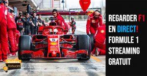 Formule 1 streaming gratuit
