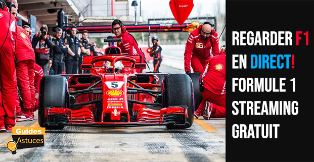 Formule 1 streaming gratuit