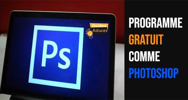 Programme gratuit comme photoshop