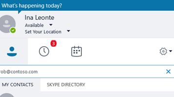 Comment savoir si quelqu'un est connecté sur skype