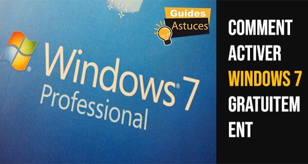 Comment activer Windows 7