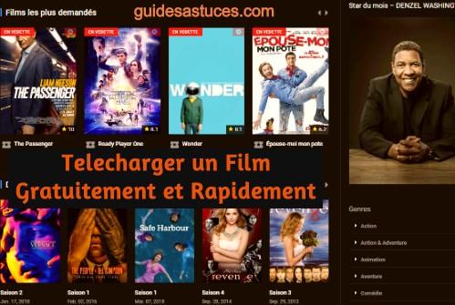 Comment telecharger un film gratuitement et rapidement