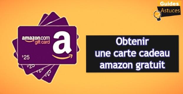 Obtenir Une Carte Cadeau Amazon Gratuit 2020 Guides Astuces
